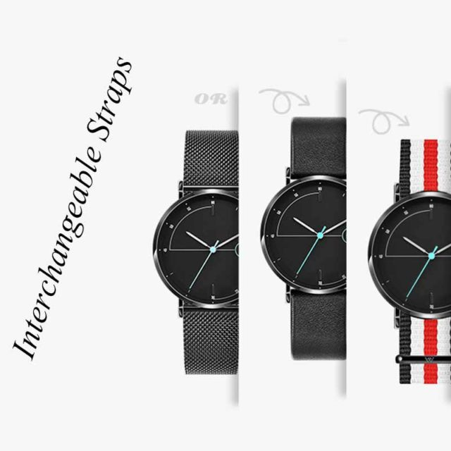 interchangeable straps different looks