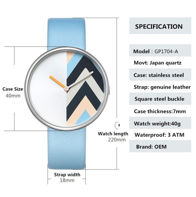 watch specifications