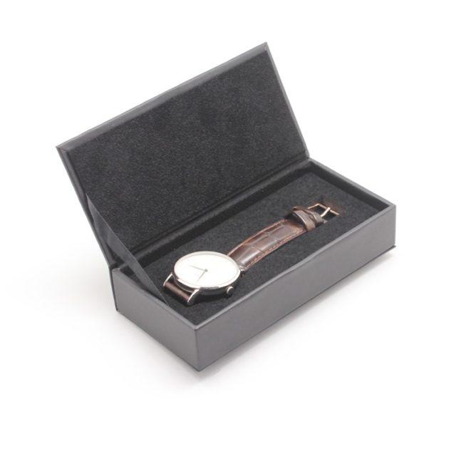 box inner velvet with watch