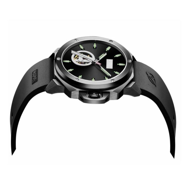 all black watch sideview
